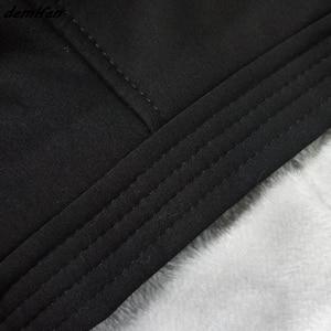 Image 4 - ברד שטן 666 אפומט פנטגרם השטן ויקה שחור קסם הדפסת הסווטשרט גברים עבה רוכסן סווטשירט היפ הופ מעיל חולצות