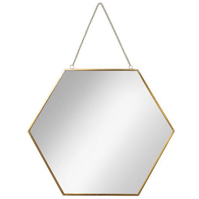 Nordic geometric shape wall dressing mirror desktop makeup mirror bathroom wall hanging decoration ZP7161635