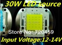 Led12V лампа шарик 30 Вт Напрямую подключить 12 В низкого напряжения выделенный мощных 12 В постоянного тока питания лампы шарик Напряжение 12-14 В
