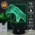 Dragon claw 3D Perro Lámpara Caracoles Jirafa Cobra Lámpara LED Luces de la noche del USB Luz del Niño Regalo de Cumpleaños Sorpresa HUI YUAN marca