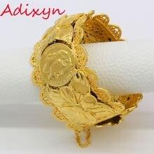 Золотые браслеты adixyn из Дубая модные ювелирные изделия для