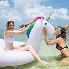 Reusachtige opblaasbare eenhoorn, je kunt deze zomer niet meer zonder bij zwembad of strand