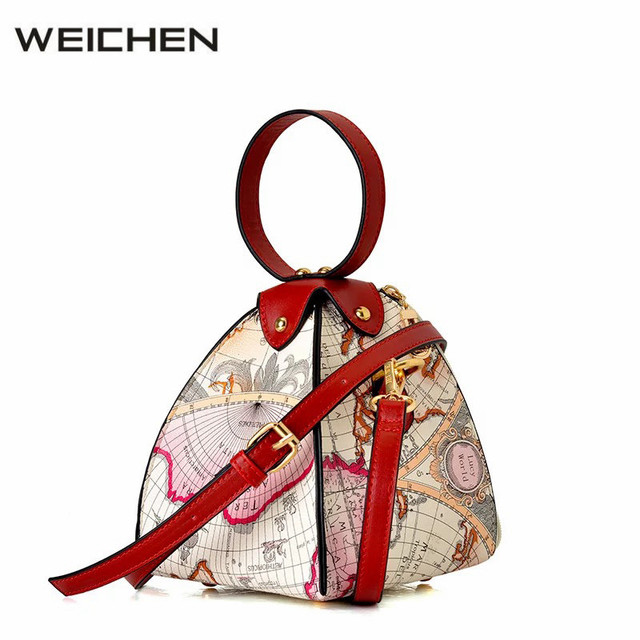 Colorful printing map hobos bags for women japan and korean style colorful printing map hobos bags for women japan and korean style womens handbags design crossbody bags gumiabroncs Images
