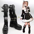 Dead or Alive 5 Ultimate Rosa María Cosplay Botas zapatos shoe boot # AT114 de Halloween