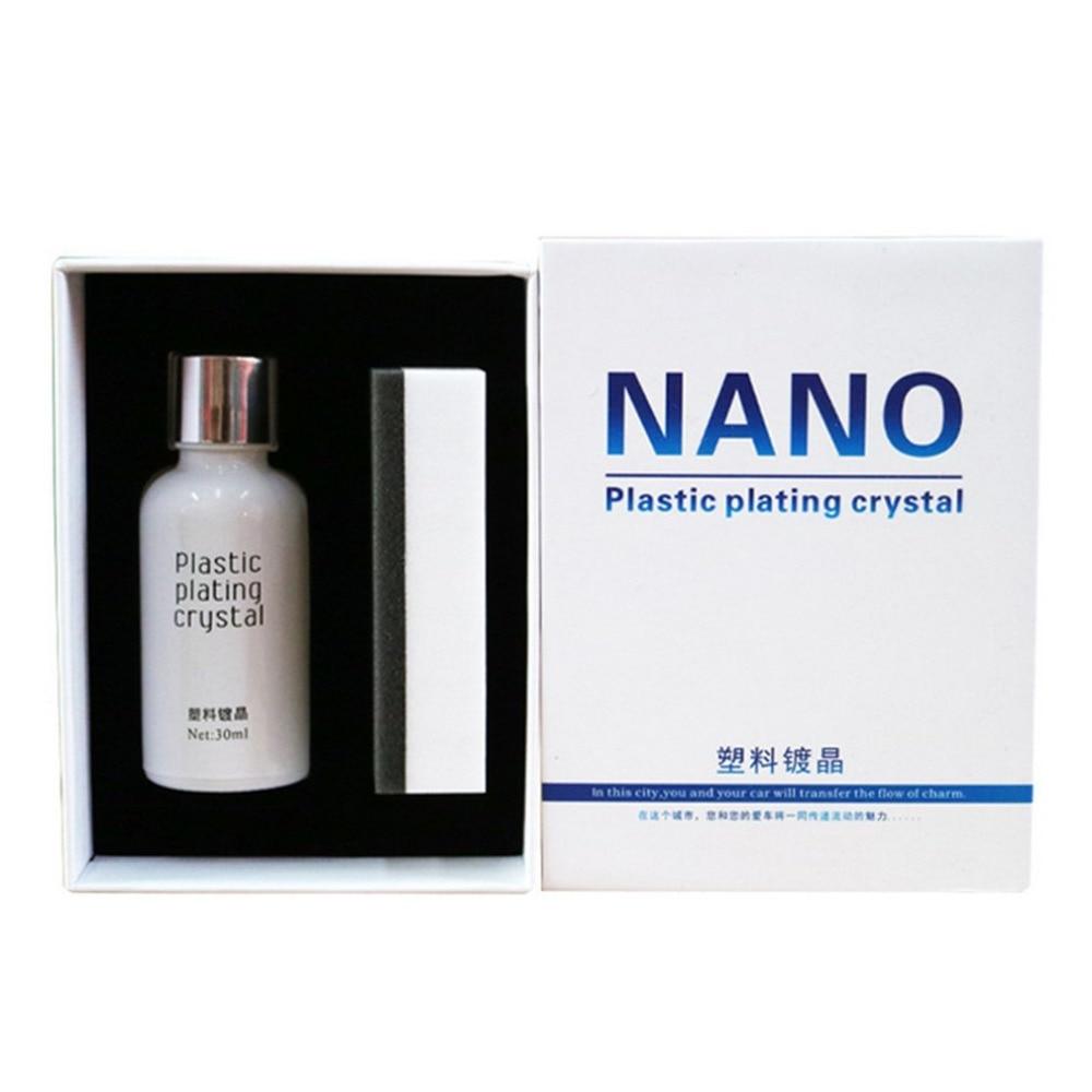Car Plastic Nano Plating Agent Auto Renovative Agent for Car Repair Waterproof Renewing Polishing Crystal Car Protection