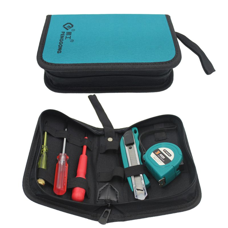 2019 New Portable Hardware Toolkit Handbag Waterproof Oxford Cloth Organize Pocket Storage Pouch Electrician Worker  DIY