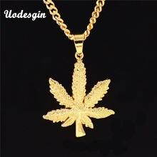 Ожерелье и подвеска uodesign в стиле хип хоп длинная цепочка