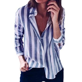 Camisa a rayas para mujer 31