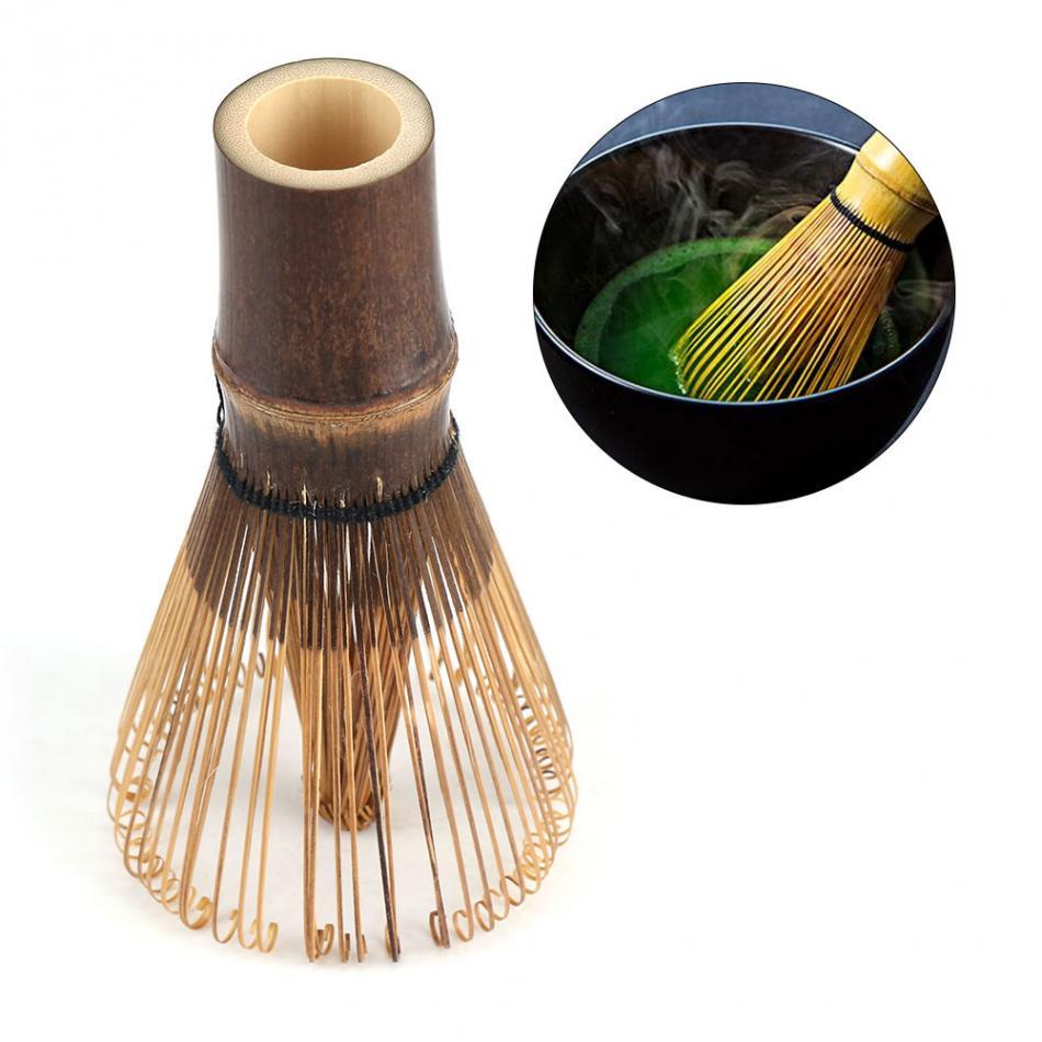 TOPINCN 80 зубцов веничек для чая «маття» японская Церемония Бамбук Chasen Матча чай венчик для пудры зеленый чай Chasen кисти инструмент