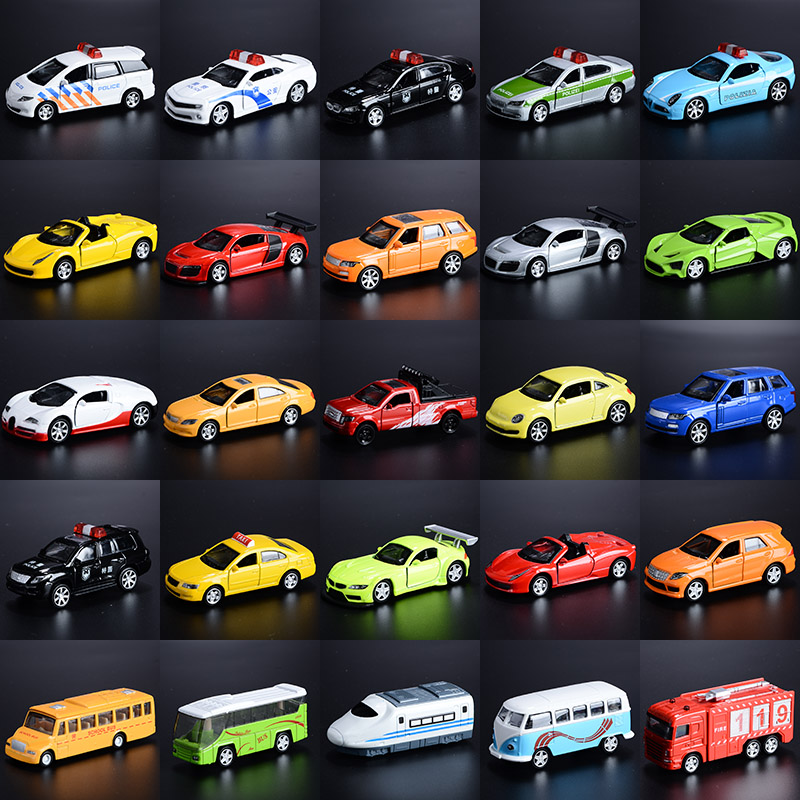 Koteta 5pcs/set Diecast 1:64 Alloy Model Pull Back Car toys for Kids ...