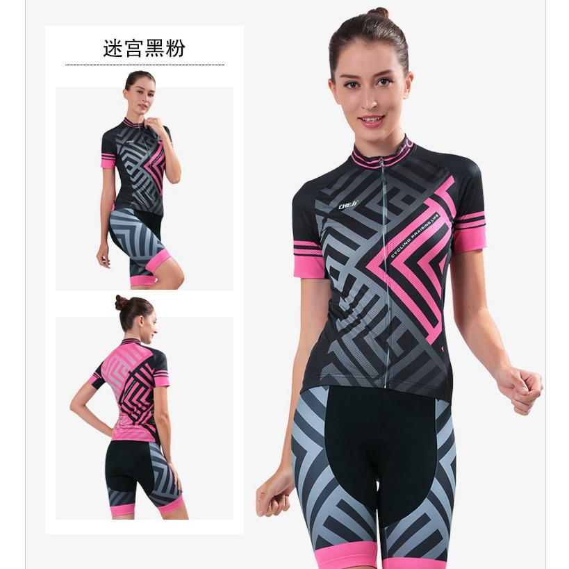 women cycling clothing mujer maillot ciclismo Bike Short Sleeve summer Cycling jersey Sets Women Sportswear ropa ciclismo