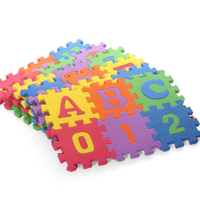 36pc Baby Kid Room Numbers EPE Foam Crawl Playing Floor Mat Tiles Jigsaw Puzzle Children Game