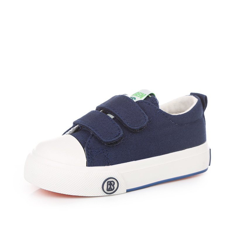 2016-new-Korean-children-solid-color-canvas-casual-shoes-boys-girls-white-students-shoes-fashion-sneakers-for-kids-4