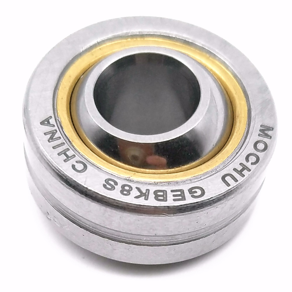 1PIECE MOCHU GEBK8S 8X22X12X9 PB8 PB-8 GEBK PB Radial Shaft Spherical Plain Bearings With Self-lubrication