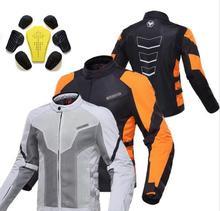 Lato duhan moto moto motocykl konna kurtka odblaskowa motocykl jazda na rowerze mężczyźni chaqueta sukienka orange szary ml xl xxl