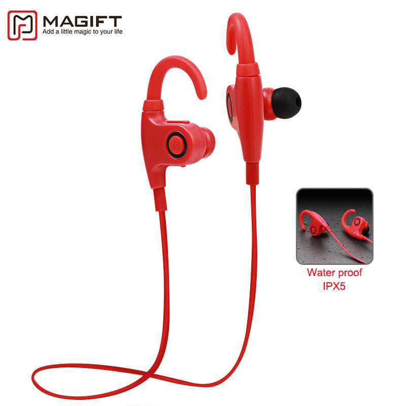 Magift Bluetooth 4.1 Headset Wireless Stereo Sports In-ear Earphone Music Handsfree Mic Sweatproof for iPhone for Samsung wireless bluetooth 4 1 earphone headphone for iphone samsung headset stereo sport studio music handsfree mic mp3 accessories