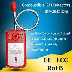 Ręczny łatwopalny gaz detektor detektor gazów detektor wycieku gazu ziemnego skroplony metan gazu gazu biogaz Tester