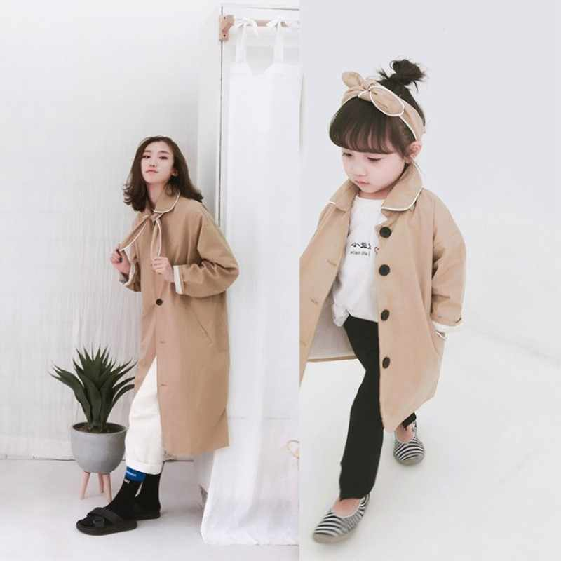 3b8c534ac77b Toddler Winter Clothes Family Matching Clothes Children's Coat Korean Girls  Windbreaker Jacket Autumn Mom and Daughter
