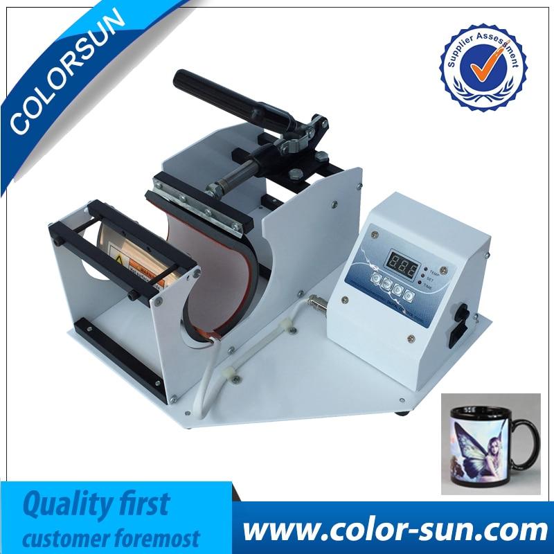 Portable Digital Mug Press Machine cups printer, Cup Heat Press machine,Thermal transfer baking cup machine 1 pcs 38 38cm small heat press machine hp230a