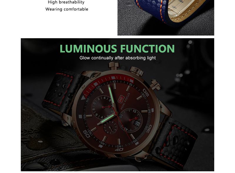 Watches Men 2019 Luxury Brand MINI FOCUS Quartz Fashion Leather Watch Man Chronograph Male Wristwatch Men relogio masculino 2018 (9)