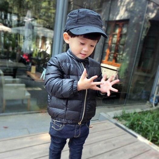 Yeni moda kiçik oğlan 1-5 yaş qış çörək pencəyi qalın palto - Uşaq geyimləri - Fotoqrafiya 3