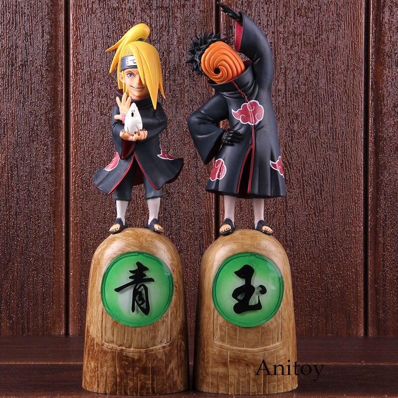 Hot Toys Anime Naruto Akatsuki Deidara & Tobi Tobb Action Figure Collectible Model Toy Gift 1