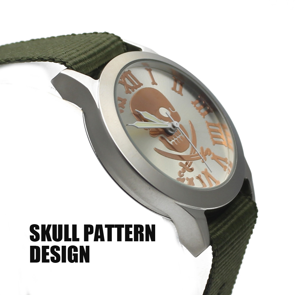 2016 AliExpress trade explosion models in Europe and America national air men and women fashion watches skull watch aliexpress v