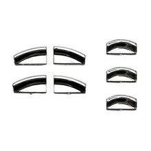 купить 7pcs Car Door Lift Button Sticker For Mercedes-Benz W212 / W166 / W204 E C GLK GL Class Door Lift Button Sticker недорого