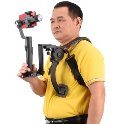 Hands-free Shoulder Mount Shouldering Support Pad Stabilizer for Phone DSLR Camera Camecorder HD DV Video Filming