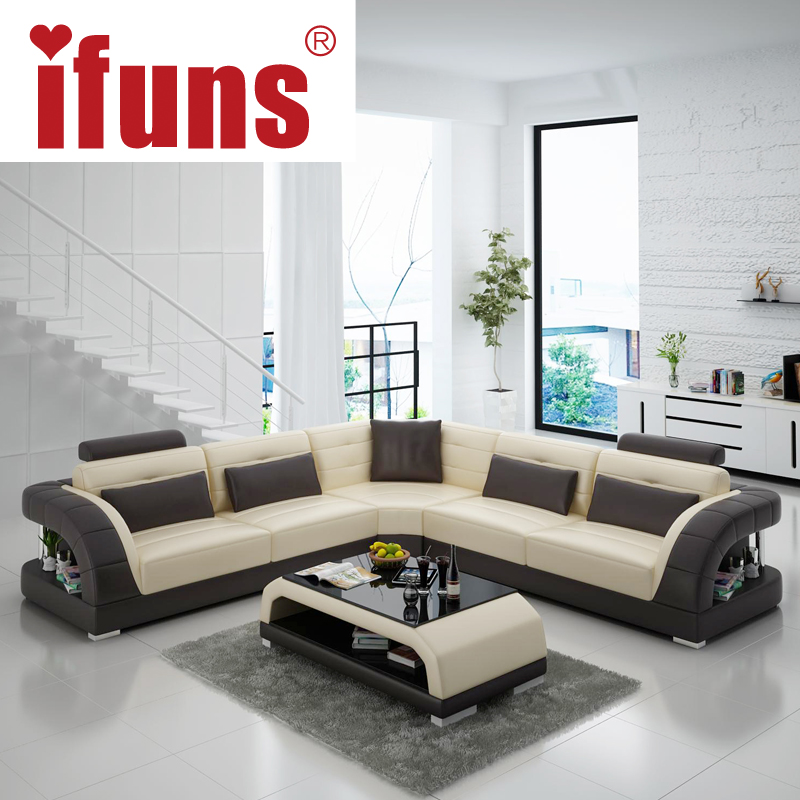 Furniture Design Sofa Set Ifuns China Export Modern L Shape