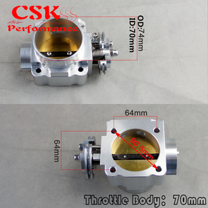 Image 5 - For Mitsubishi Lancer 4G63 EVO 1 2 3 Turbo S90 Throttle Body 70MM 1992 1995
