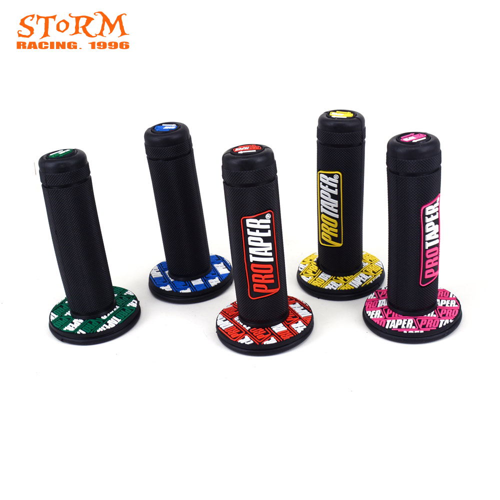 Motorcycle 7/8 Handlebar Grip Gel Brake Handle Rubber For YAMAHA HONDA EXC SX YZF KTM CRF Protaper Pro taper Dirt Bike for honda crf 250r 450r 2004 2006 crf 250x 450x 2004 2015 red motorcycle dirt bike off road cnc pivot brake clutch lever