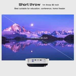 Image 3 - BYINTEK K5 Ngắn Ném 4000ANSI Full HD 1080P Video DLP 3D Trên Đầu Máy Chiếu Beamer Cho Ánh Sáng Ban Ngày Lớp Học Giáo Dục văn Phòng