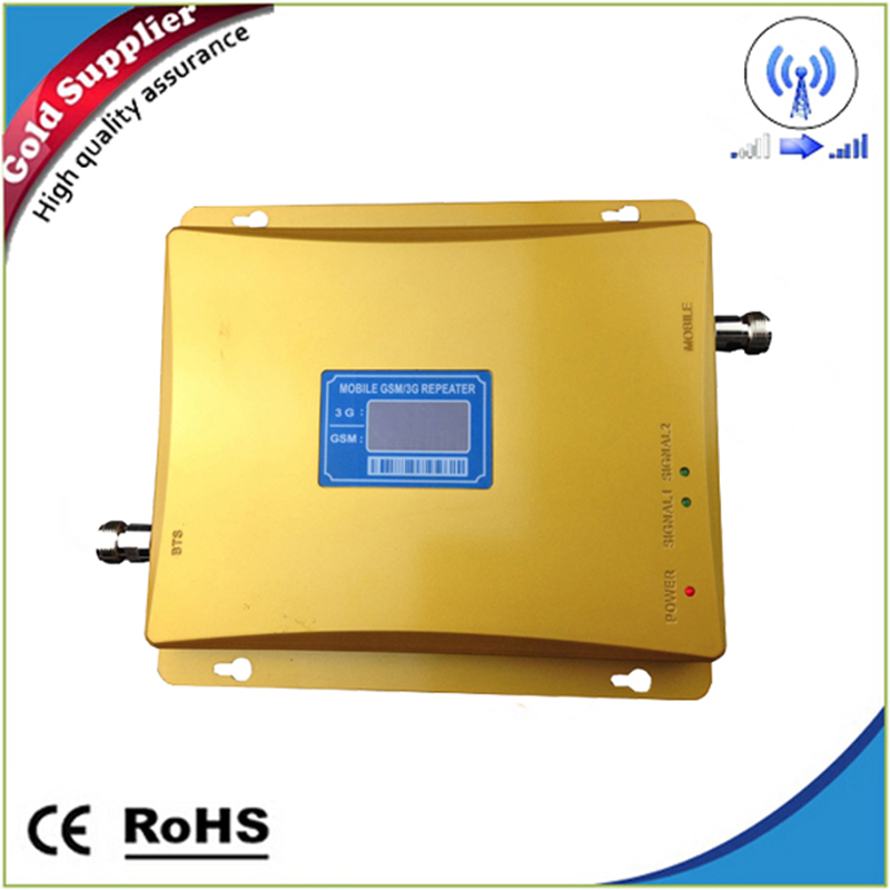 Cellular Signal booster GSM repeater 900 3G UMTS 2100 Dual