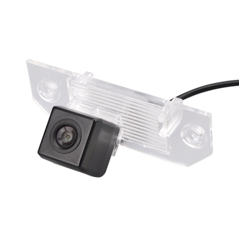 For Ford Focus Sedan Mondeo C-MAX car reverse back up parking rear view car Camera Wide Angle kit for GPS image