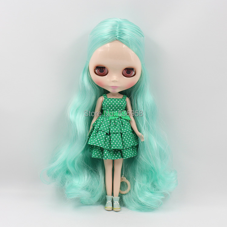 Mint Mixed Long Hair Nude Doll Suitable For DIY Change Toy For Girls BL1364268