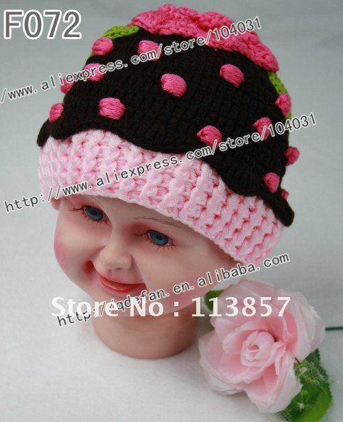 Free Shipping 20pcslot Crochet Kids And Childrens Black And Red