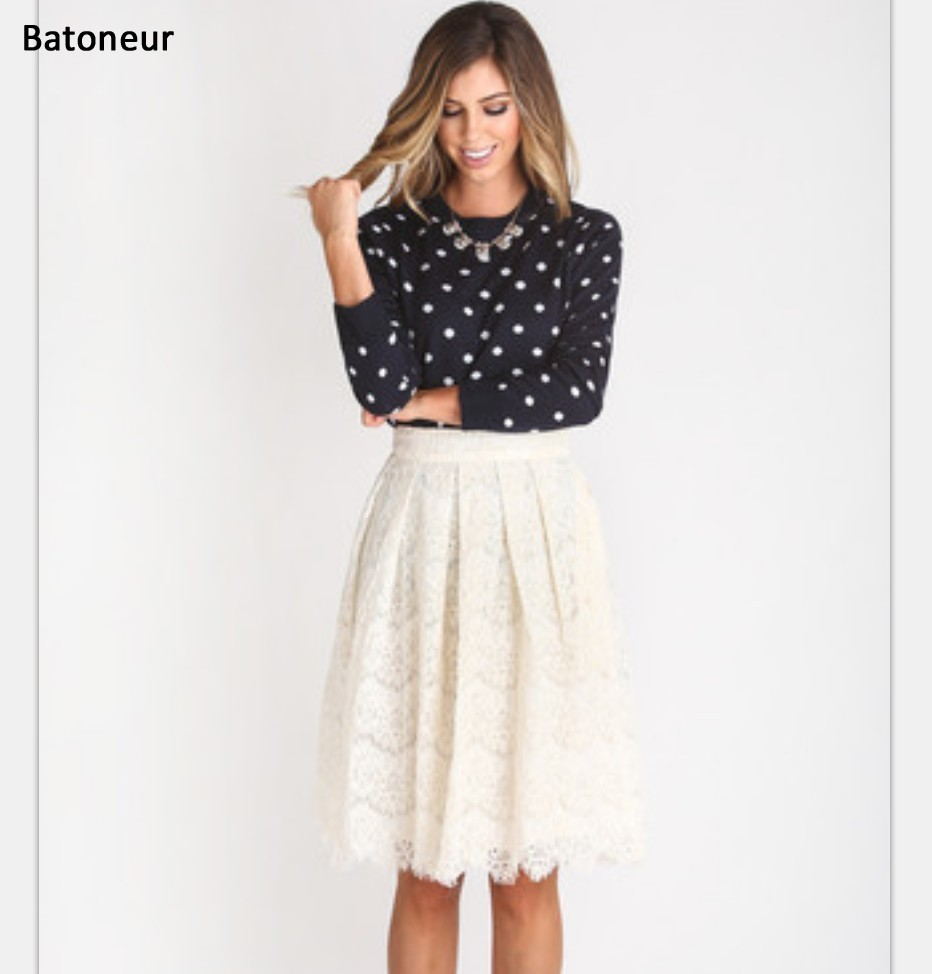 Popular White Women Skirt-Buy Cheap White Women Skirt lots from ...