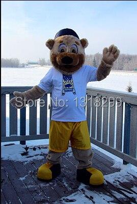 mascot bear mascot costume fancy dress custom fancy costume cosplay theme mascotte costume kits