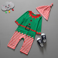 1pcs/lot Christmas gift hot baby rompers Santa Claus clothes children romper newborn boys&girls rompers for kids
