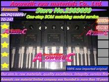 Aoweziic 100% новая импортная оригинальная фотовспышка Шоттки 40CPQ100PBF 40CPQ100 TO 247 Высокая мощность выпрямительные диоды 40 А 1000 в