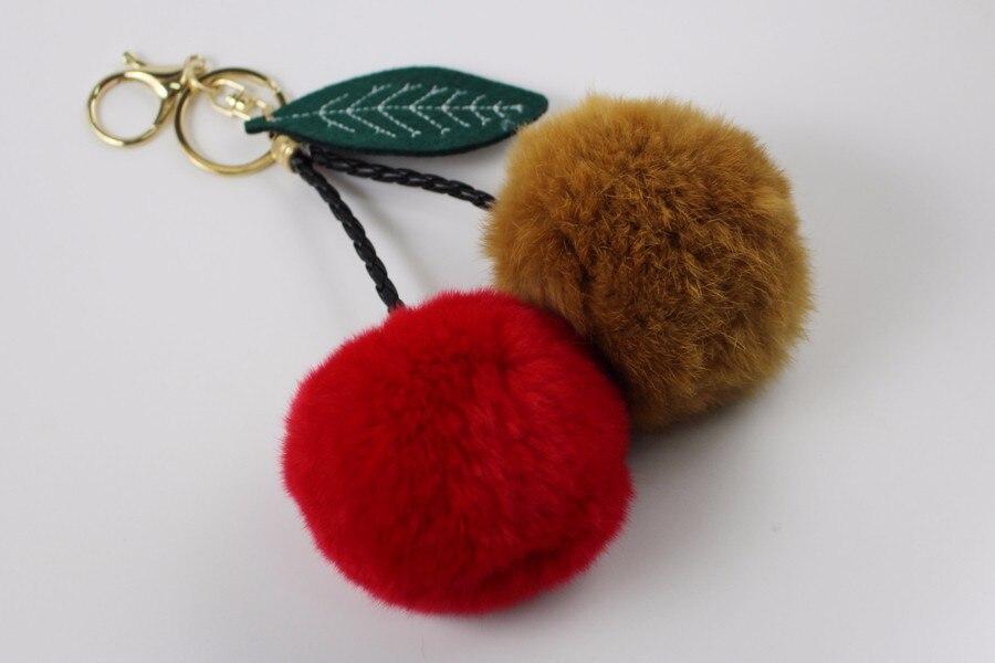 Fur Ball Keychain 06