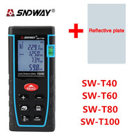 SNDWAY Laser Distance Meter 40M 60M 80M 100M Laser Rangefinder Range Finder Digital Tape Infrared Ruler