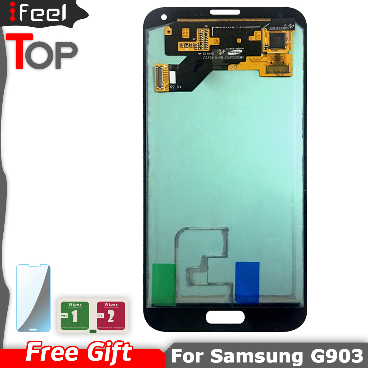 100% Tested LCD For Samsung Galaxy S5 NEO SM-G903M G903 G903F G903M LCD Display Touch Screen Digitizer Assembly Super AMOLED(China)