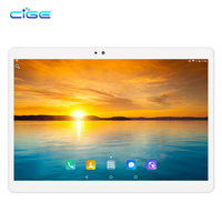 CIGE Newest 10.1 inch Tablet PC Android 7.0 4GB RAM 64GB ROM Octa Core Dual SIM 4G LTE 1280*800 IPS Phone Call Tablets