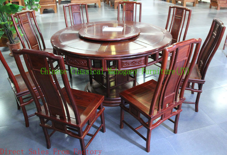 Online Shop Chinese Classical Mahogany Furniture Rosewood Furniture Kitchen  Furniture Dining Table Chinese Style Luxurious Tradition Retro | Aliexpress  ...