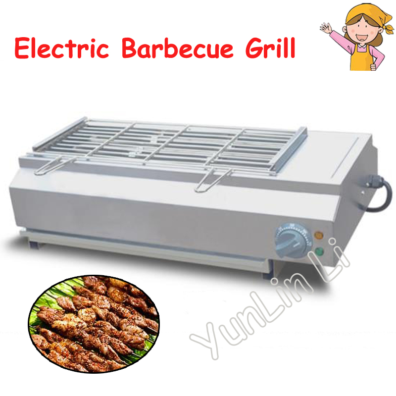 Smoke-Free BBQ Grill Electric Barbecue Grill Machine Smokeless Oven Commercial BBQ Toasting Machine FY-Q70 commercial barbecue machine stainless steel bbq grill smokeless electric barbecue grill food oven chicken roaster fy 936