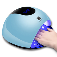 Nail Lamp LED Phototherapy Machine 80w Intelligent Induction Nailsled light quick drying nail lamp induction nail baking lamp