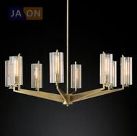 E27 Эдисон Ретро Американские Железные Кристалл Светодиодные Лампы.Светодиодные Светильники Люстры Подвесные.Светильники Подвесные Светил