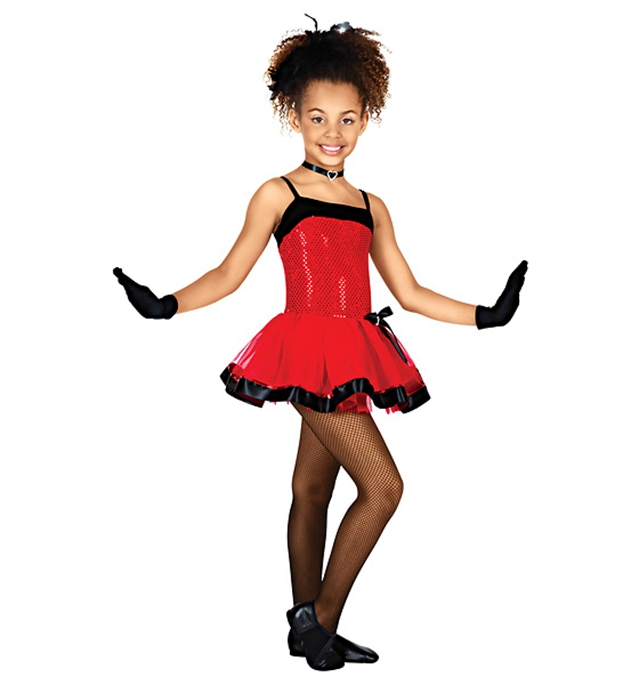 The New Foreign Trade Girls In Red Dresss and Professional Stage Performance Clothing Latin Costumes Dresses